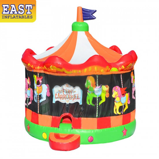 Inflatable Fun Carousel Bouncy House