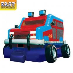 Monster Truck Bounce House