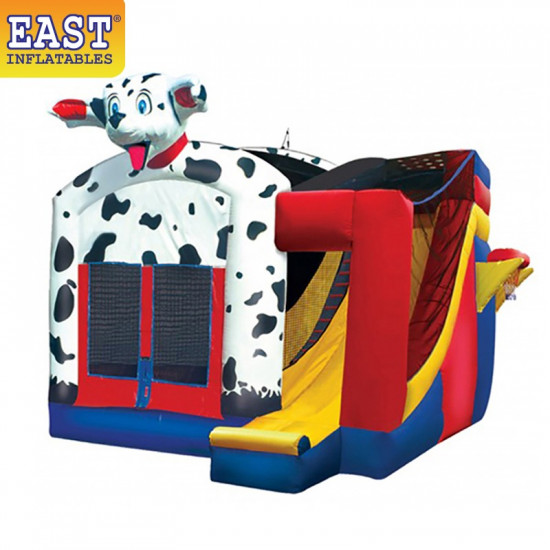 Dalmatian Combo Bounce House