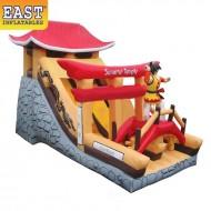 Samurai Temple Inflatable Slide