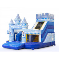 Princess Funcity Inflatable Slide