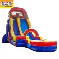 Rainbow Water Slide Inflatable