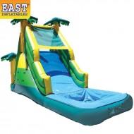 Kids Inflatable Pool With Slide