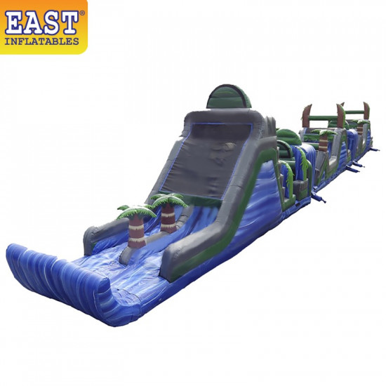 Blue Crush Obstacle Course