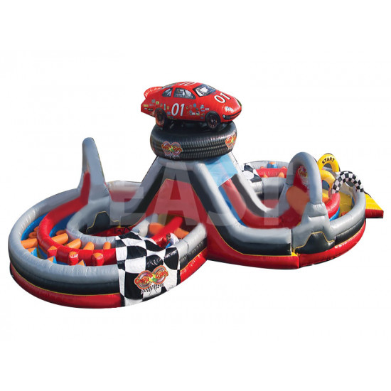 Cars Inflatable Obstacle Course