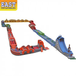 The World's Longest Inflatable Obstacle Course