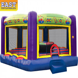 Rock N Roll Joust Inflatable