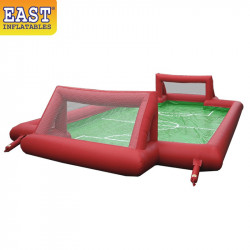 Inflatable Soap Water Soccer Field