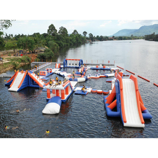 Inflatable Water Obstacle Course