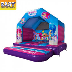 Shimmer And Shine Jumping Castle