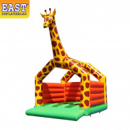 Giraffe Jumping Castle