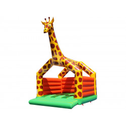 Giraffe Jumping Castle