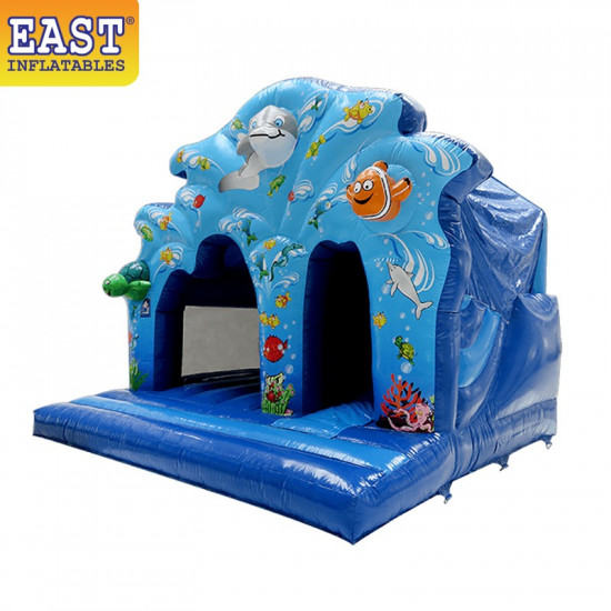 Commercial Jumping Castle With Slide