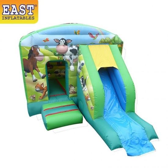 Farm Jumping Castle Slide