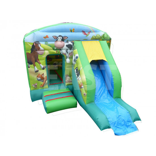 Farm Jumping Castle Slide