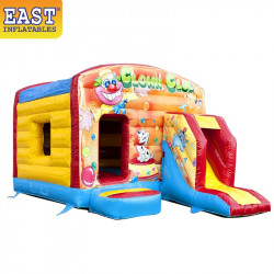 Clown Jumping Castle With Slide