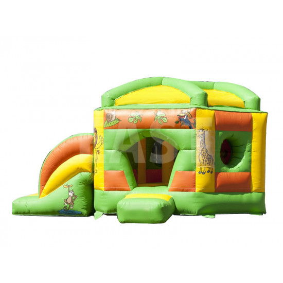 Pentagon Jungle Jumping Castle