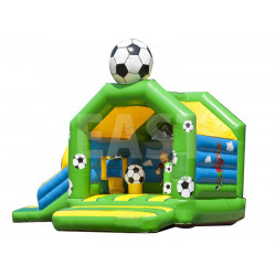Football Jumping Castle With Slide