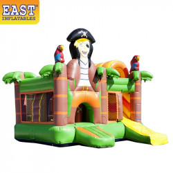 Pirate Jumping Castle With Slide