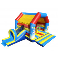 Beach Jumping Castle With Slide