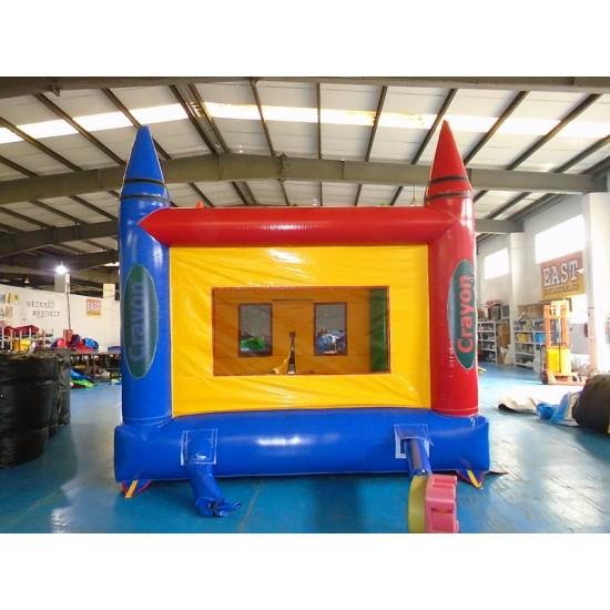 Crayon Bounce House