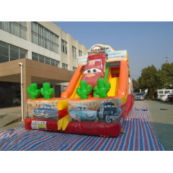 Disney Cars Inflatable Slide
