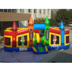 Crayon Toddler Bounce House