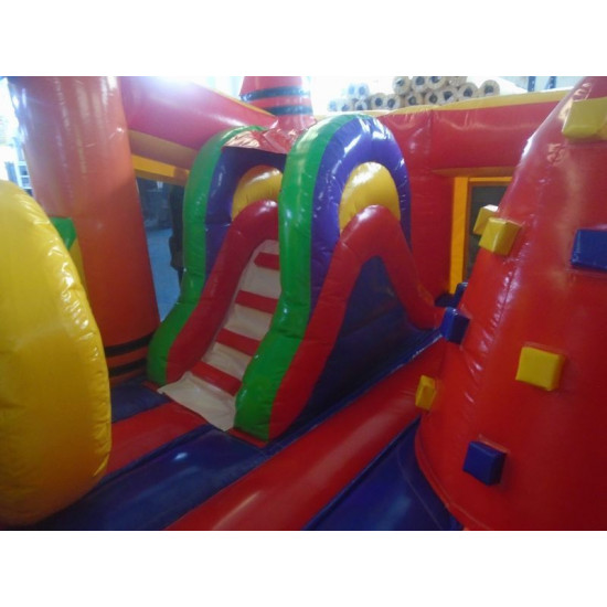 Crayon Toddler Bounce House