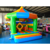 Carousel Jumping Castle