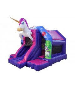 Jumping Castle With Slide For Sale